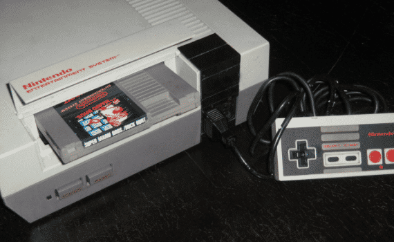 Classic Video Games - NES Super Mario